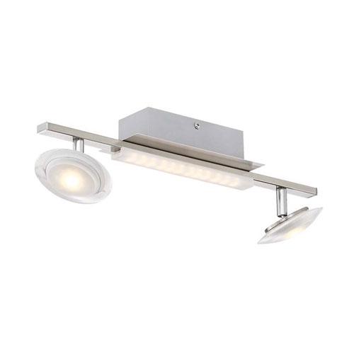 Arnsberg Santiago Matte Nickel 5-Inch LED  Flush Mount