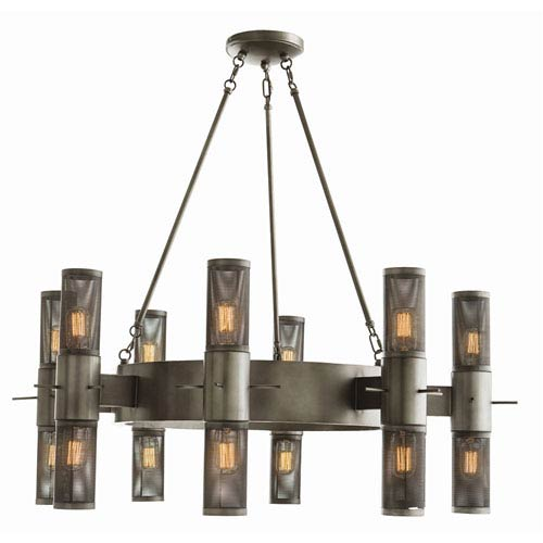 Arteriors Home Dirk 16 Light Single Tier Chandelier