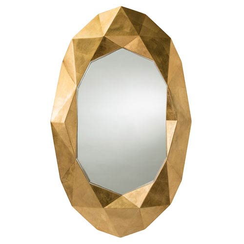 Fallon Gold Leaf Mirror