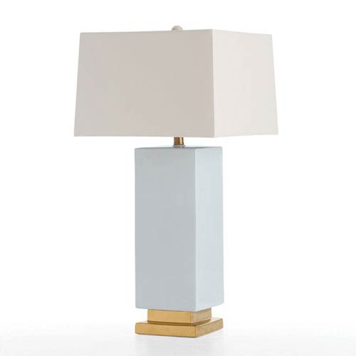Rhea Blue One-Light Table Lamp
