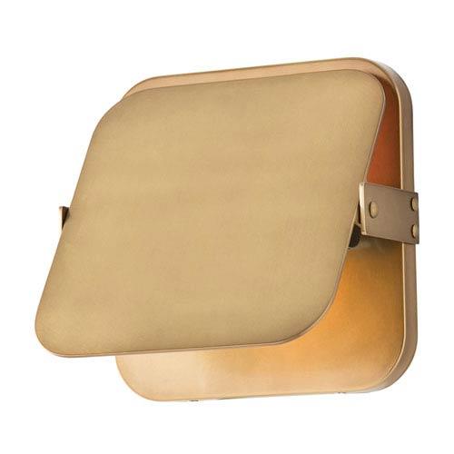 Mercury Antique Brass One-Light Bath Sconce