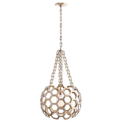 Arteriors Home Dolma Polished Brass One-Light Pendant