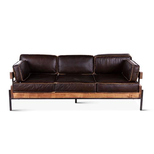 Chiavari Dark Brown Sofa