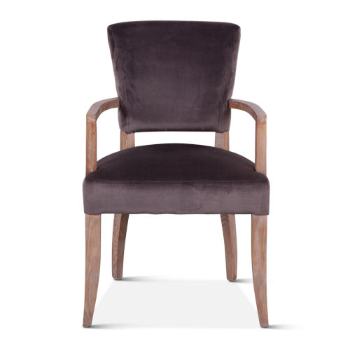 Portia Dark Gray Armchair