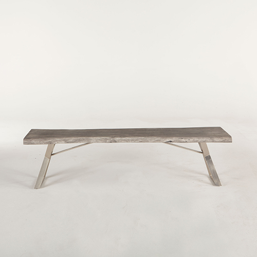 72 inch dining bench modern world interiors acacia wood 72 inch dining bench in weathered grey in