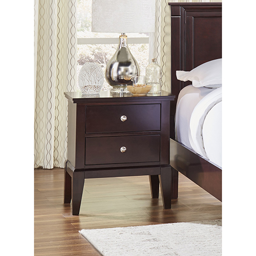 Stanford Java Two Drawer Nightstand