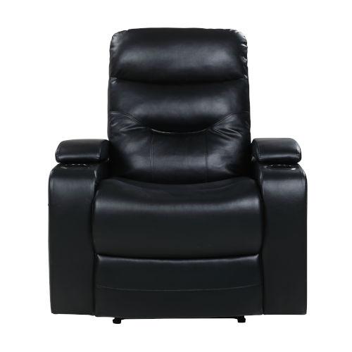 Relax A Lounger Black Recliner