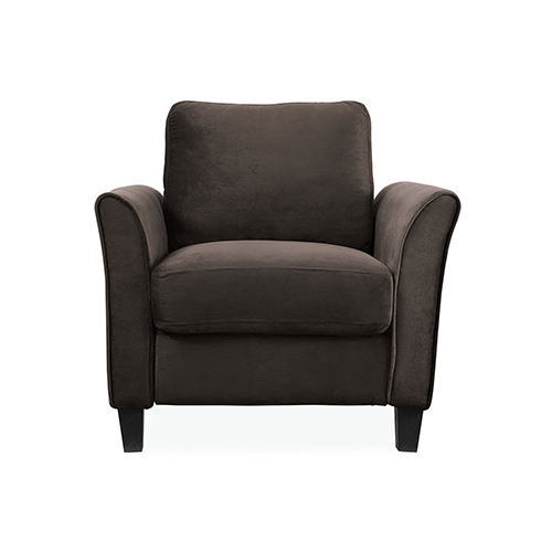 Lifestyle Solutions Wilshire Coffee Polyester Chair