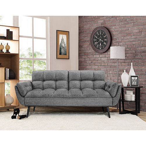 Lifestyle Solutions Relax A Lounger Carly Convertible Sofa Bed