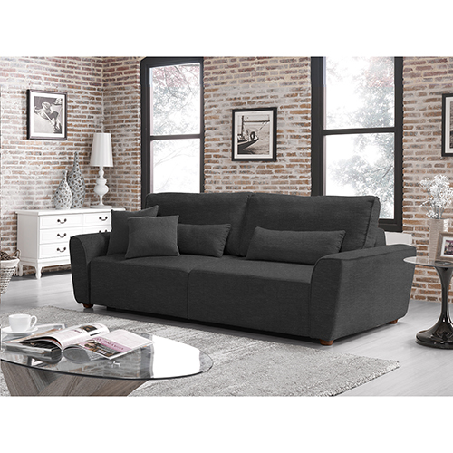 Lifestyle Solutions Relax A Lounger Elena Convertible Sofa Bed
