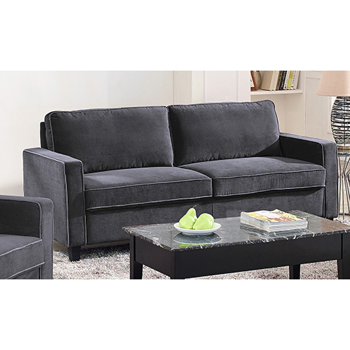 Lifestyle Solutions Garren Dark Grey Sofa