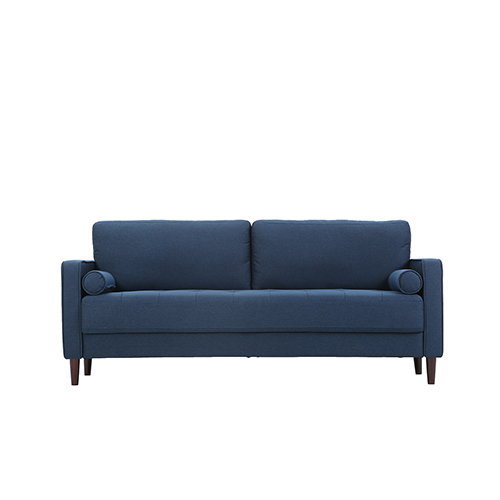 Lifestyle Solutions Lillith Navy Polyester Sofa