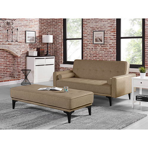 Lifestyle Solutions Relax A Lounger Maxine Convertible Sofa Bed