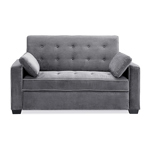 Serta Augustus Convertible Full Sofa Bed