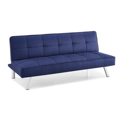 Serta Cambridge Navy Convertible Sofa
