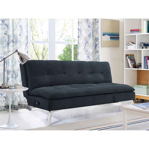 Serta Coventry Convertible Sofa in Slate