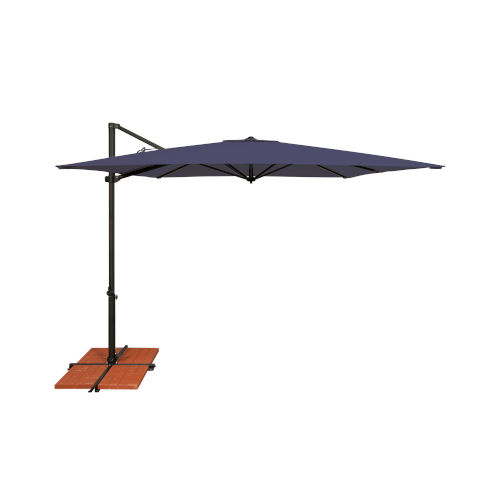 Skye Navy and Black Cantilever Umbrella