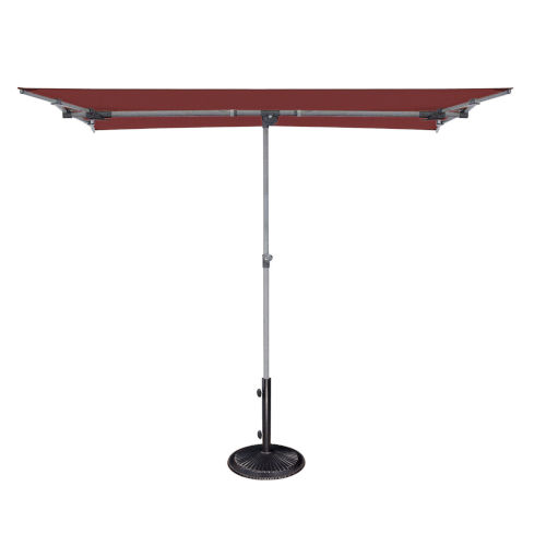 Capri Deep Red Market Umbrella