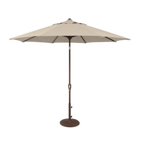 Aruba Antique Beige Market Umbrella