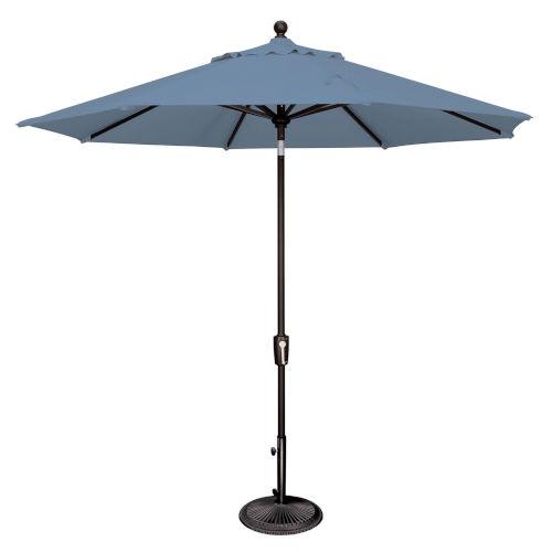 Catalina Cast Ocean and Black Push Button Market Umbrella