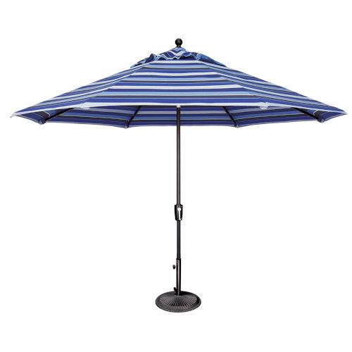Catalina Blue 11-Feet Octagon Push Button Tilt Umbrella