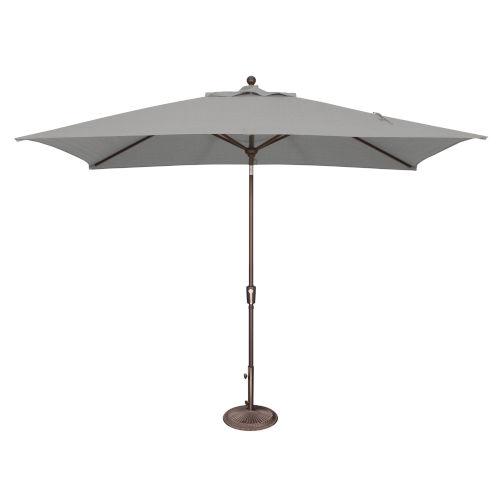 Catalina Cast Silver Market Umbrella