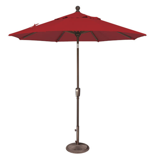Catalina Really Red 90-Inch  Market Umbrella