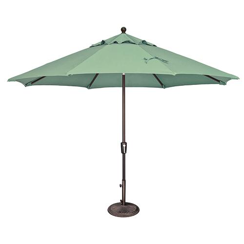 Catalina 11 Foot Sunbrella Spa Octagon Push Button Tilt