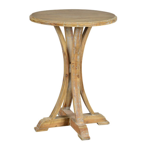Cottage White 22-Inch End Table