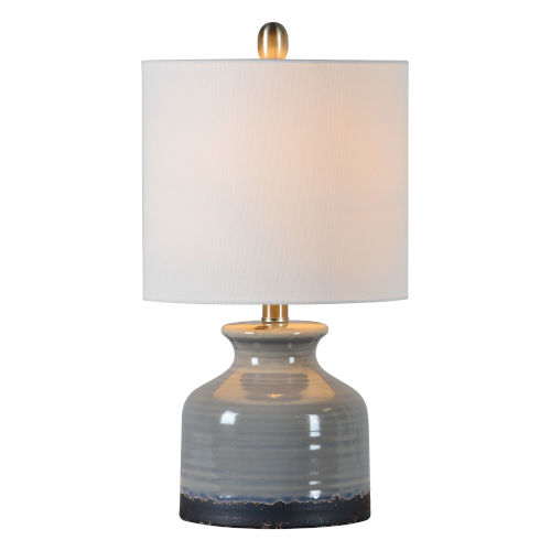 Kayla Rustic Gray One-Light 20-Inch Table Lamp