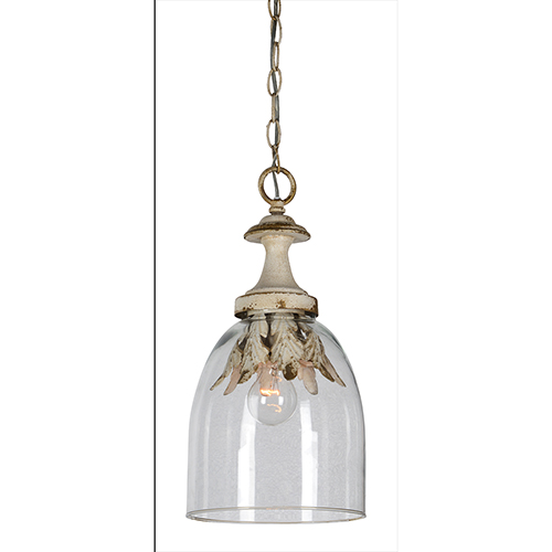 Camden Cottage White Pendant