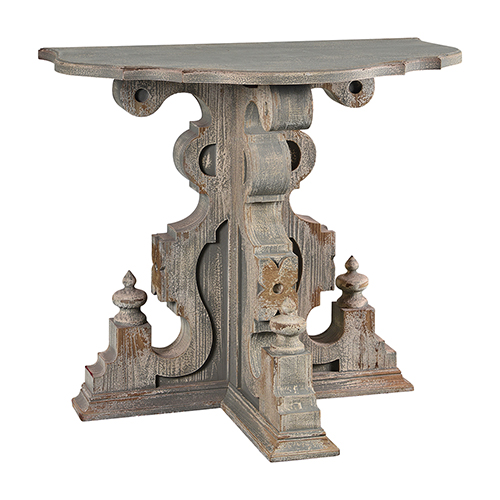 Eleanor Weathered Gray Console