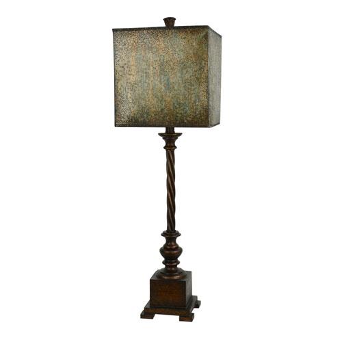 Scott Bronze One-Light Buffet Lamp