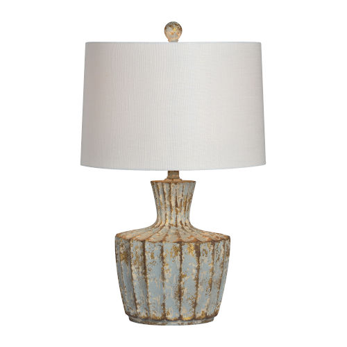 Jada Rustic Blue One-Light 26-Inch Table Lamp