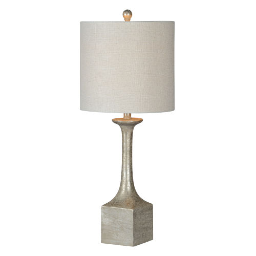 Loretta Dusky Silverleaf One-Light 30-Inch Buffet Lamp