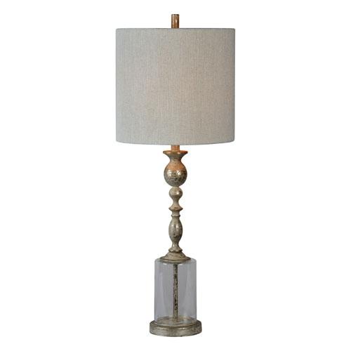 Grady Silver Leaf One-Light Buffet Lamp