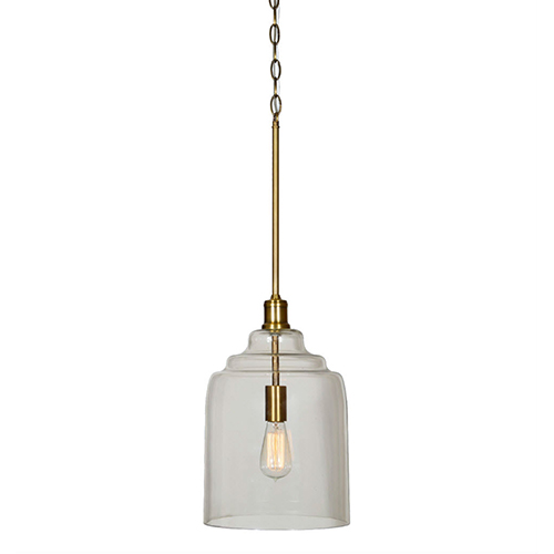 Forty West Grafton Antique Brass Pendant