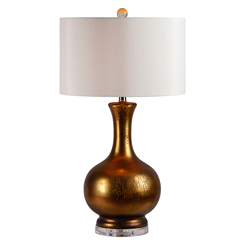 Cleopatra Golden Mercury and Acrylic 30-Inch One-Light Table Lamp
