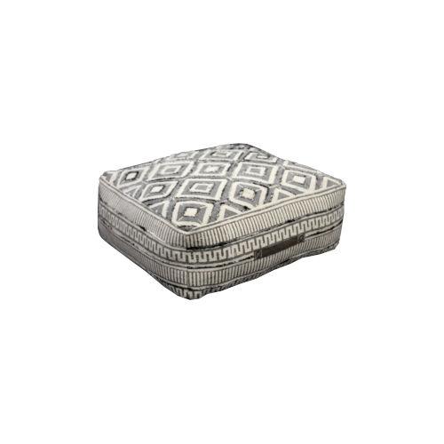 Gray Floor Cushion