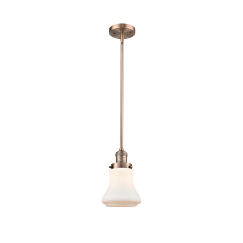 Bellmont Antique Copper Seven-Inch One-Light Mini Pendant