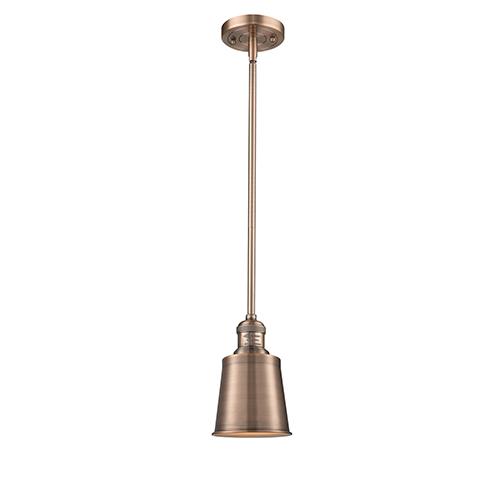 Innovations Lighting Addison Antique Copper Six-Inch LED Mini Pendant