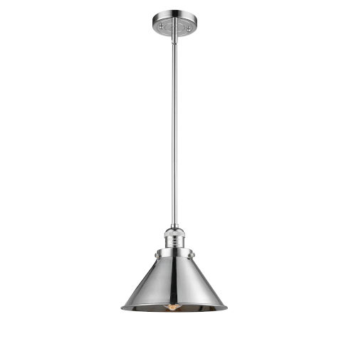 Briarcliff Polished Chrome LED Hang Straight Swivel Pendant
