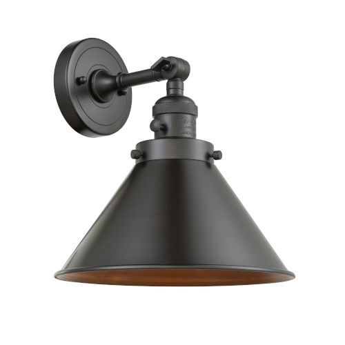 Franklin Restoration Oil Rubbed Bronze 10-Inch One-Light Wall Sconce