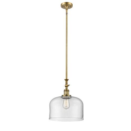 Franklin Restoration Brushed Brass 12-Inch One-Light Pendant