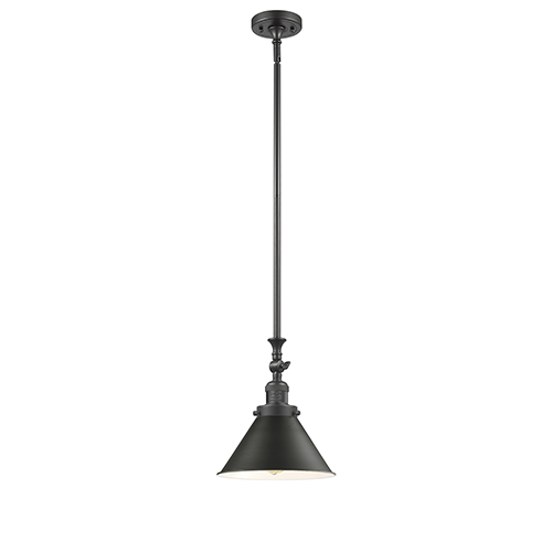 Innovations Lighting Briarcliff Oiled Rubbed Bronze 14-Inch One-Light Pendant with Oil Rubbed Bronze Metal Shade