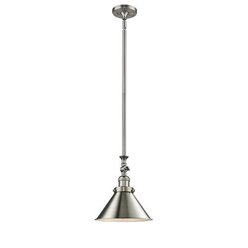 Innovations Lighting Briarcliff Brushed Satin Nickel 14-Inch LED Pendant