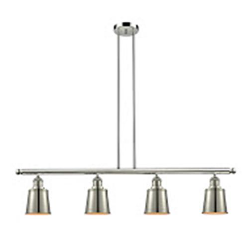 Addison Polished Nickel Four-Light LED Island Pendant