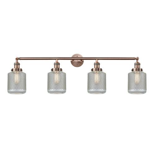 Stanton Antique Copper Four-Light LED Bath Vanity