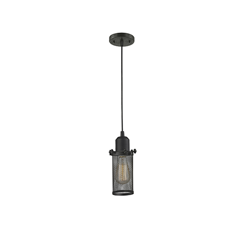 Innovations Lighting Quincy Hall Oiled Rubbed Bronze LED Mini Pendant