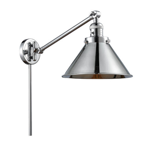 Briarcliff Polished Chrome One-Light Swing Arm Wall Sconce